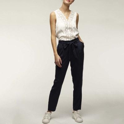 le plus fiable professionnel de la vente à chaud design de qualité Pantalon droit femme NAF NAF | La Redoute