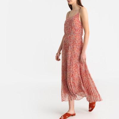 ae67a6b046420d Kleid mit Spagettiträgern, florales Printmuster Kleid mit Spagettiträgern,  florales Printmuster SEE ...