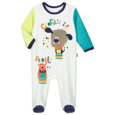 Pyjama bébé velours Pastille Pyjama bébé velours Pastille PETIT BEGUIN dc86b2ee576