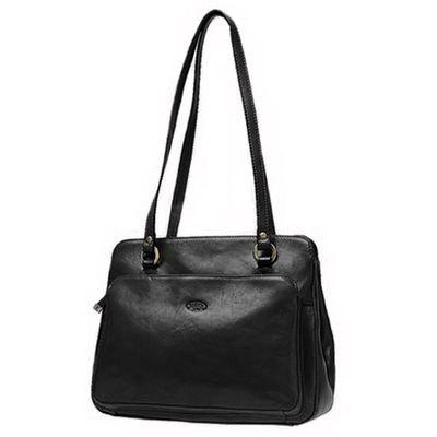 e2044f53ed Sac Shopping En Cuir De Vachette Collet K 82374 Sac Shopping En Cuir De  Vachette Collet