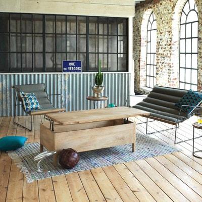 Fauteuil Design Assise Suspendue Kaki 2 Places