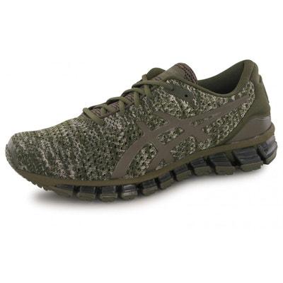 chaussures asics kaki