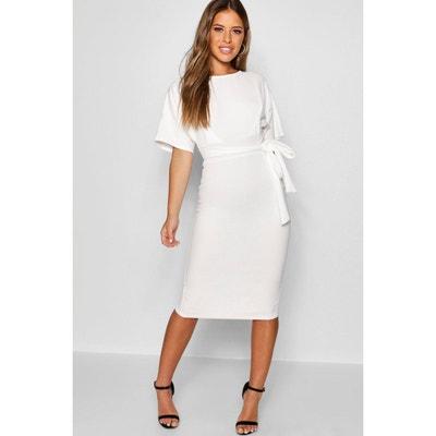 la redoute robe blanche courte