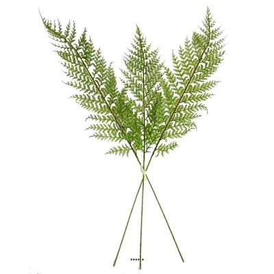 Branche de Papyrus artificiel H 117 cm 3 tetes