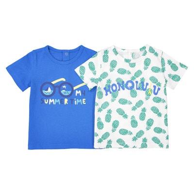 0f6c6d70f Camiseta con cuello redondo, Oeko-Tex, 1 mes - 2 a Camiseta con