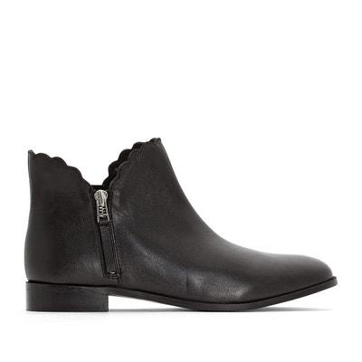 Boots femme taille cuir 43La Redoute thsQrdC