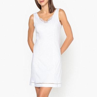829d0f53599 Fond de robe en coton fabrication Française Fond de robe en coton  fabrication Française LA REDOUTE