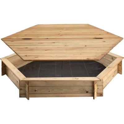 bac sable bac sable bois coquille la redoute. Black Bedroom Furniture Sets. Home Design Ideas