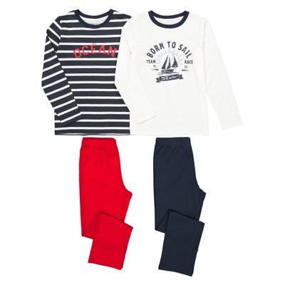 Confezione da 2 pigiama 3 anni-12 anni Confezione da 2 pigiama 3 anni-12 anni LA REDOUTE COLLECTIONS