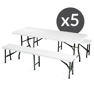 Table et bancs pliables | La Redoute