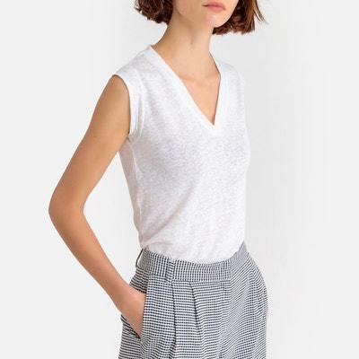 Tee shirt col v femme  d0e93a231ef