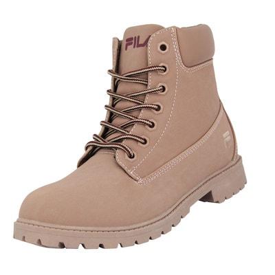 4534ff9bcf7564 Fila MAVERICK MID WMN Chaussures Mode Sneakers Femme Cuir Suede Rose Fila  MAVERICK MID WMN Chaussures