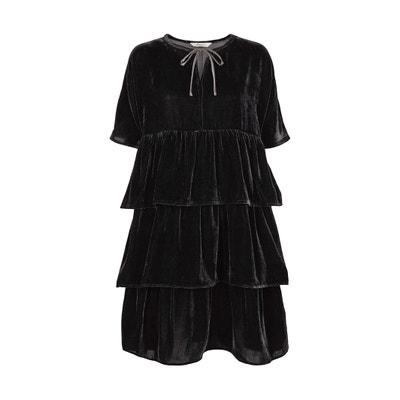 9c3efb7a23f253 Korte jurk met korte mouwen Korte jurk met korte mouwen AND LESS