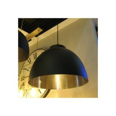 a7525f7bd575e1 Suspension style industriel Argent et noir Contrast MILLUMINE