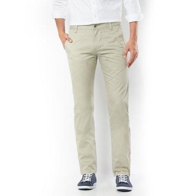 Pantalon chino coupe slim Alpha Stretch Khaki Pantalon chino coupe slim Alpha Stretch Khaki DOCKERS