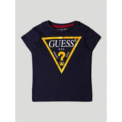 T-shirt Logo Triangulaire T-shirt Logo Triangulaire GUESS KIDS f28c7033a0e
