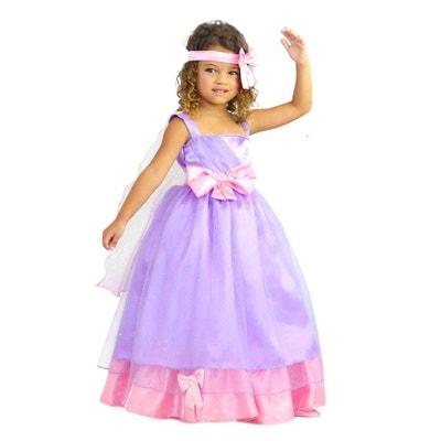 Robe princesse fille jaune