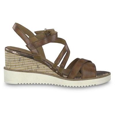 f9fe6f767b0 sandales   nu-pieds cuir TAMARIS