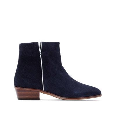 27bdd7e5c7b Boots femme bleu marine