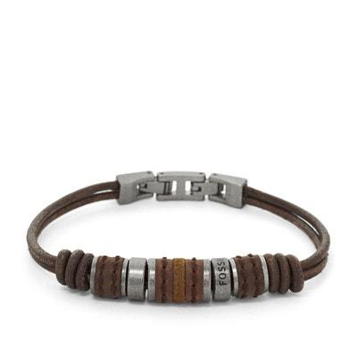 la meilleure attitude 07005 025e9 Bracelet cuir fossil | La Redoute