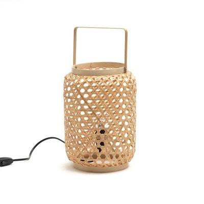 Lampe à Poser En Bambou ISKA Lampe à Poser En Bambou ISKA LA REDOUTE  INTERIEURS