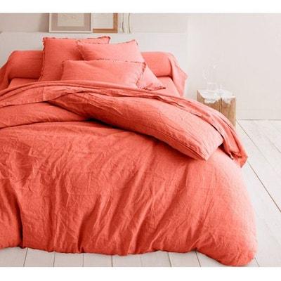 drap orange la redoute. Black Bedroom Furniture Sets. Home Design Ideas