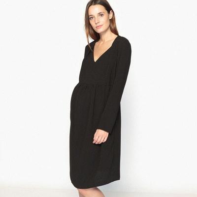 9f569c53b04 Robe de grossesse encolure V Robe de grossesse encolure V LA REDOUTE  MATERNITÉ