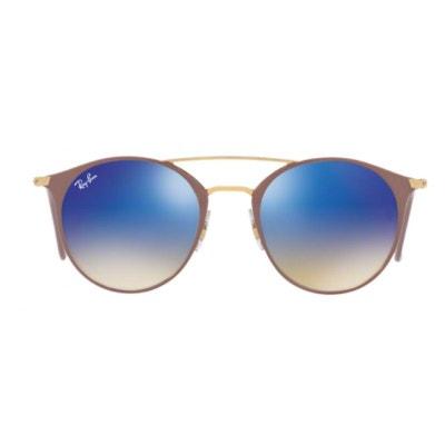 2dfc714f8bf7f Lunettes de soleil mixte RAY BAN Bleu RB 3546 90118B 49 20 Lunettes de  soleil. «