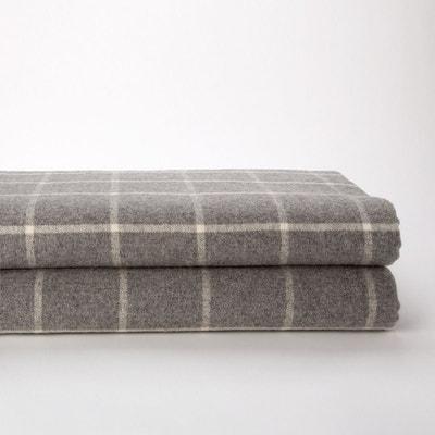 couverture a carreaux la redoute. Black Bedroom Furniture Sets. Home Design Ideas