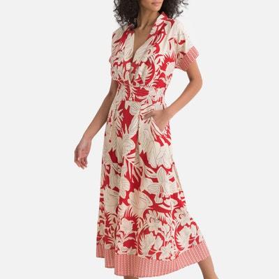 b3683188f65 Robe kimono imprimée fleurs