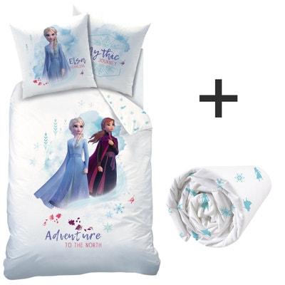 Disney La Reine des neiges Couette dhiver Disney Marvel originale pour lit 1 place 170 x 260 cm pour enfant