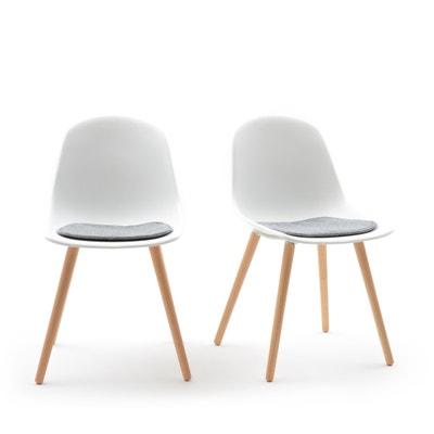 Confezione da2 sedie guscio WAPONG Confezione da2 sedie guscio WAPONG LA REDOUTE INTERIEURS