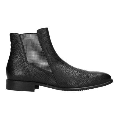 Chelsea boots en cuir verni Sacha x MattGStyle SACHA 0647cbdde85