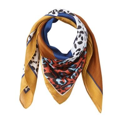 3e333b853a831 Petit foulard carré patchwork Petit foulard carré patchwork LA REDOUTE  COLLECTIONS