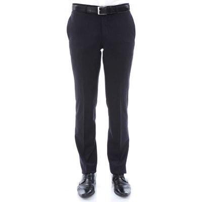Pantalon homme fitté en pure laine Super 150 s Pantalon homme fitté en pure  laine Super 150 s 2e0efdd6008