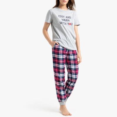 hot-vente dernier meilleure vente dessins attrayants Pyjamà carreaux femme | La Redoute