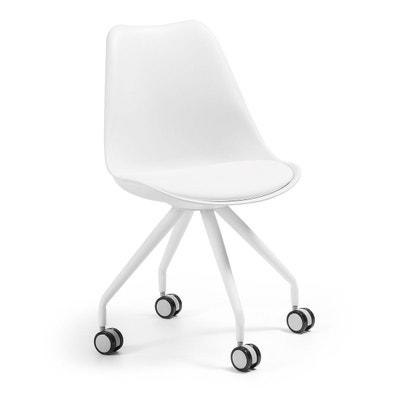 Chaise Bureau Ralf Blanc KAVE HOME