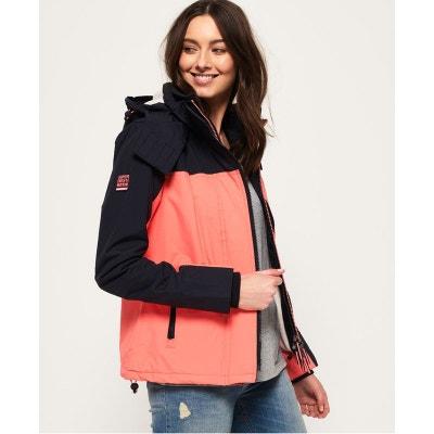 Veste à capuche pop zip arctic sd windcheater | La Redoute