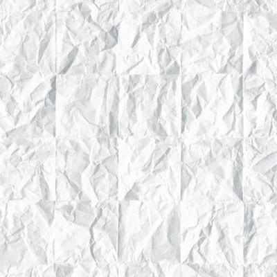 9feabbb865b Papier Peint Papier froissé blanc KOZIEL