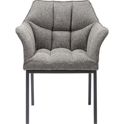Chaise Avec Accoudoirs Thinktank Grise Kare Design KARE DESIGN