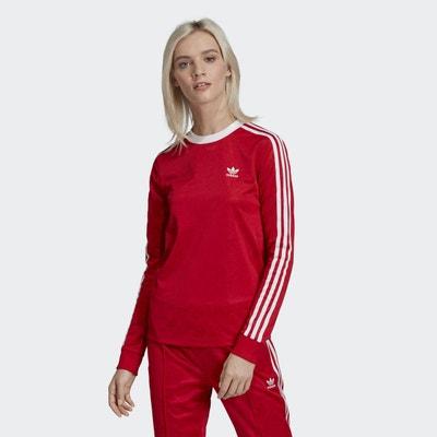 Shirt Tee Manche Longue Redoute OriginalsLa Adidas Femme cqj3AR45L