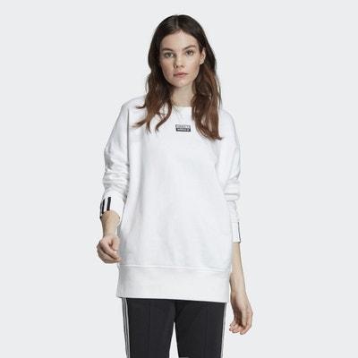 4038c748b Sweat adidas blanc femme | La Redoute