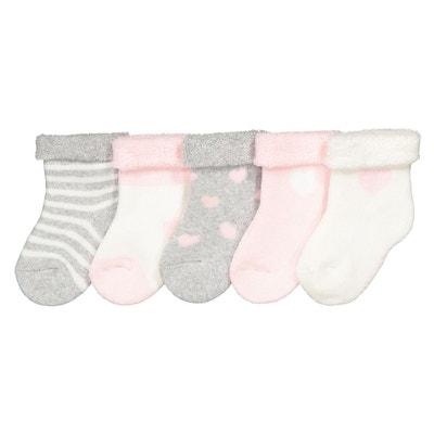 b8922cffc2c Lot de 5 paires de chaussettes bouclettes 15-20 Lot de 5 paires de  chaussettes