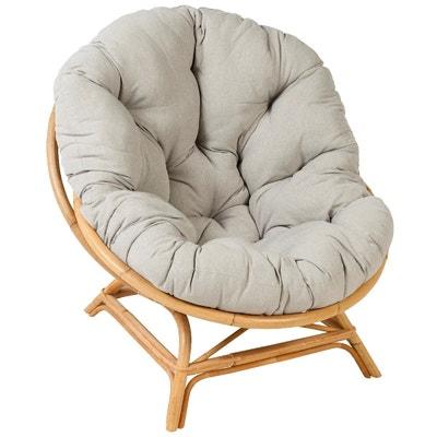 Coussin pour fauteuil en osier | La Redoute