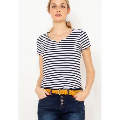 T-shirt marinière T-shirt marinière CAMAIEU 9173852b12e