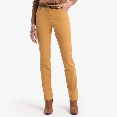 nouveaux styles super mignon double coupon Pantalon moutard   La Redoute