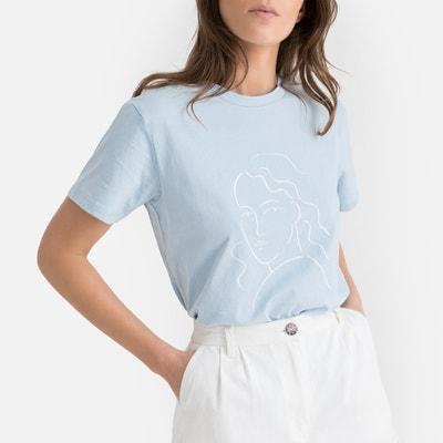 24625245ba Camiseta con cuello redondo