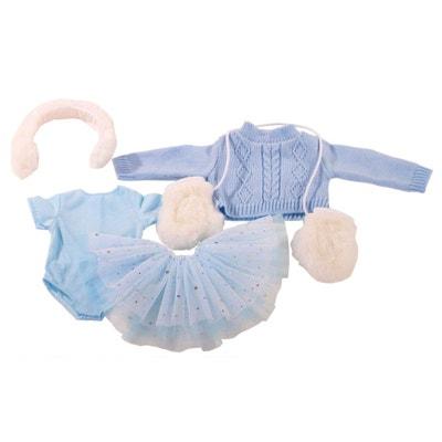 Vêtement pour poupée de 45 à 50 cm   Ensemble patin à glace Vêtement pour  poupée 06cea695edb