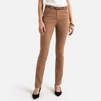 pantalon femme camel
