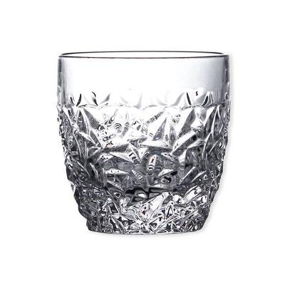 Verre à Whisky En Cristal 35cl   Lot De 6   NICOLETTE Verre à Whisky En
